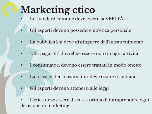 Francesca Bandini Marketing etico