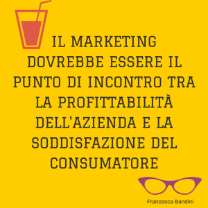Marketing oggi Francesca Bandini