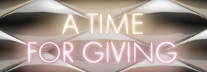 A time for giving -Louis Vuitton