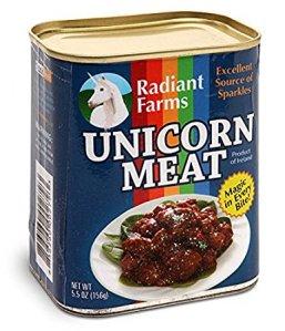 unicorn meat cose più strane in vendita su Amazon