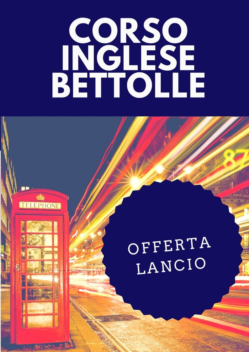 corso inglese adulti bettolle